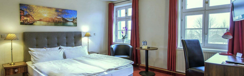 Komfort-Doppelzimmer für 3 Personen im Hotel Zur Alten Oder in 15230 Frankfurt/Oder