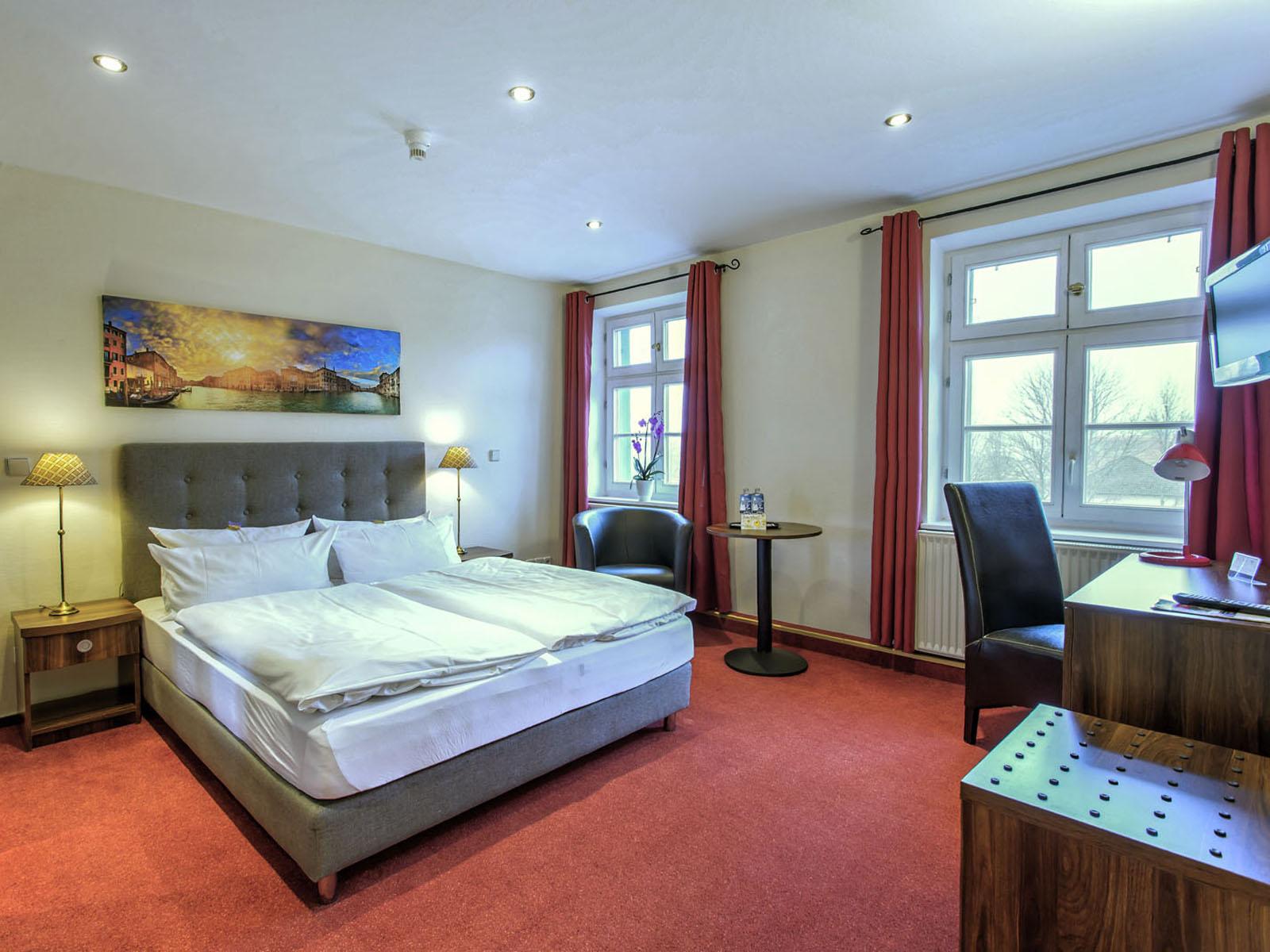 Komfort-Doppelzimmer im Hotel Zur Alten Oder in 15230 Frankfurt/Oder