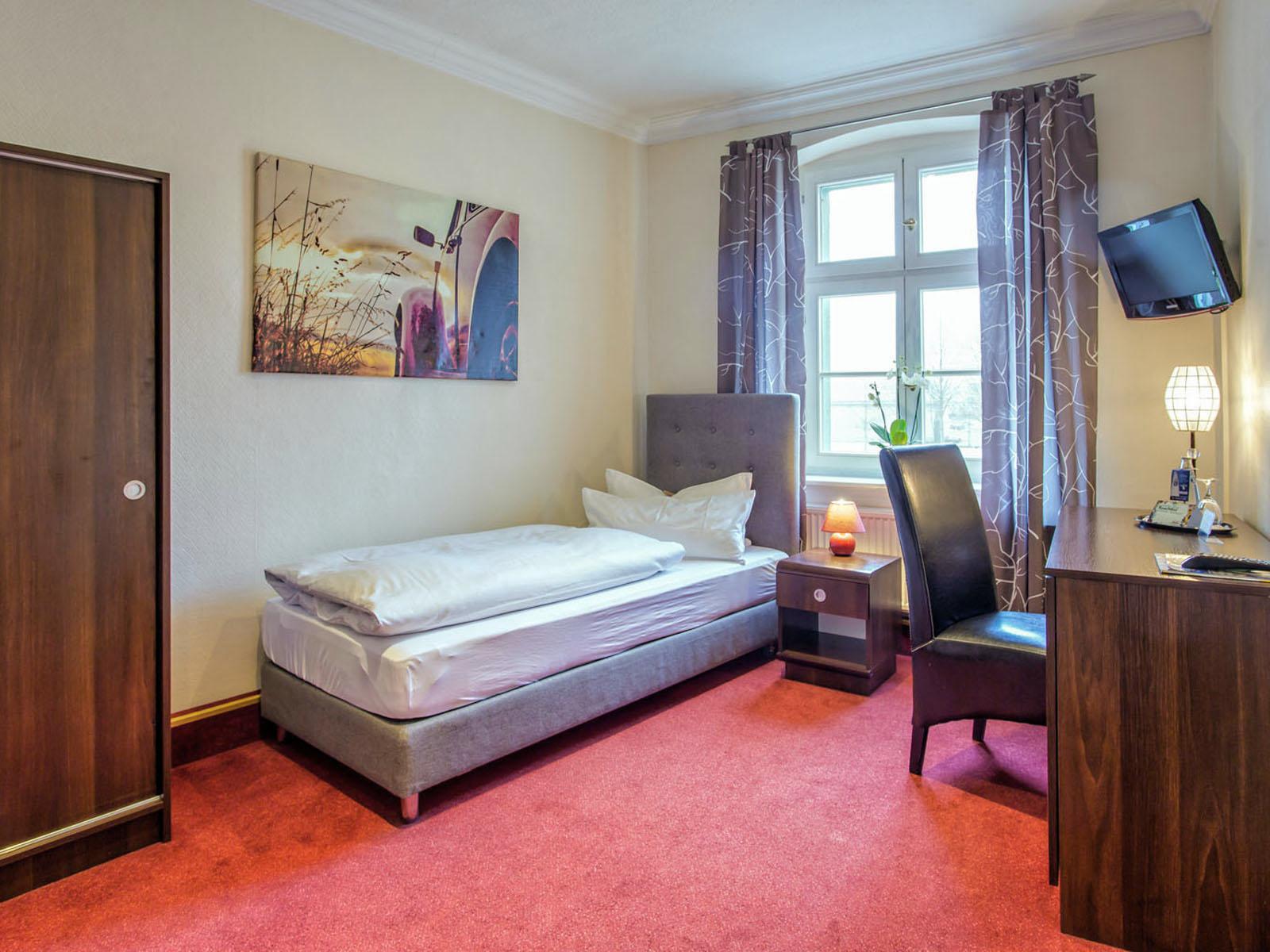 Komfort-Einzelzimmer im Hotel Zur Alten Oder in 15230 Frankfurt/Oder